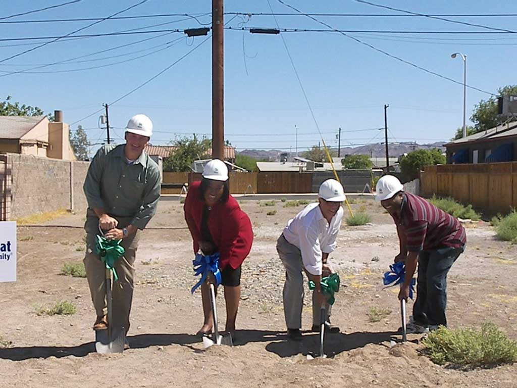 Greenveiw Global Project Profile: Habitat for Humanity - Groundbreaking ceremony.